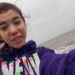 تصاویری که این دختر قبل از مرگش از طوفان سندی گرفت