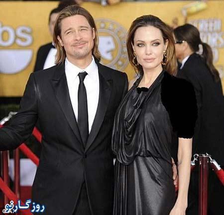 آنجلینا جولی و همسرش