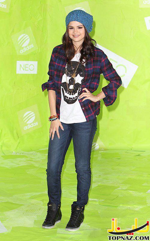 عکس سلنا گومز,نامزد جاستین بیبر,خواننده آمریکایی