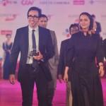 عکس هایی از ترانه علیدوستی و همسرش بر فرش قرمز جشنواره ویتنام