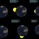 عکس های سیاره ای که دیشب از کنار زمین گذشت