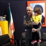 عکس وزیر آموزش پرورش و دخترش