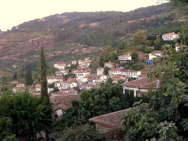 روستای شیرینجه در ازمیر ترکیه