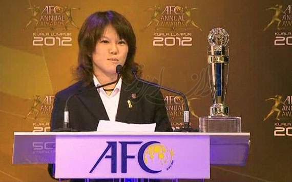 بهترین بازیکن زن فوتبال آسیا