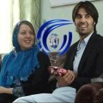 دختر آمریکایی از طریق فیسبوک عاشق پسر افغانی شد! +عکس
