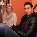 عکسی از ایمون زاید در کنار همسرش
