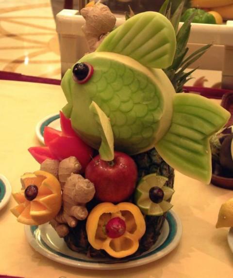 میوه آرایی شب یلدا