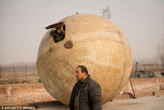ابتکار مرد چینی برای روز پایانی دنیا