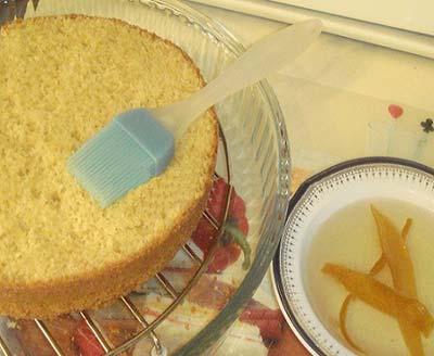 طرز تهیه کیک انار, کیک انار مخصوص شب یلدا
