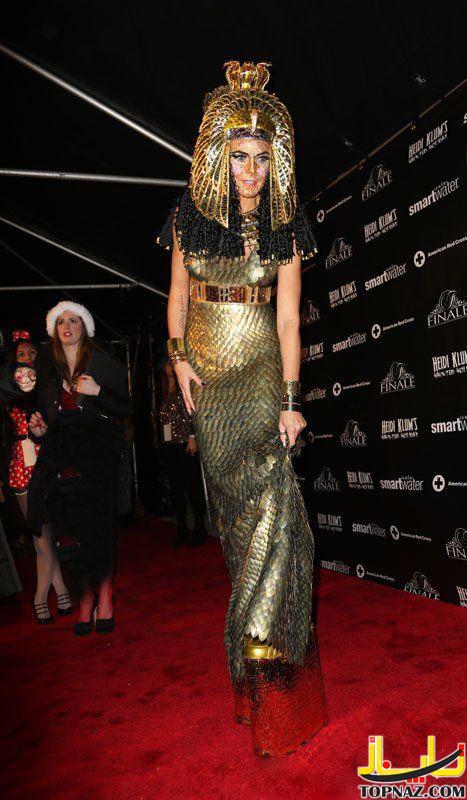 هایدی کلم, لباس عجیب