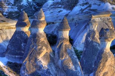 مكانهاي عجیب و غیرطبیعی,عجايب گردشگري,کاپادوکیه  ترکیه