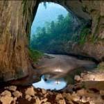 عکس های شگفت انگیز از بزرگ ترین غار دنیا