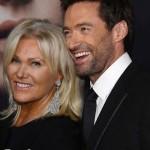 هیو جکمن و همسرش در نمایش فیلم جدیدش در نیویورک