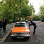 پیکان نارنجی در لندن چی کار میکنه!! +عکس