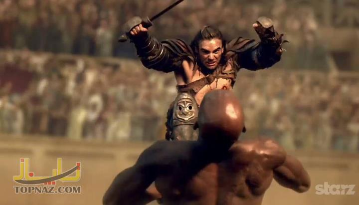 گانیکوس در سریال اسپارتاکوس