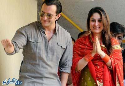 سیف علی خان و کارینا کاپور