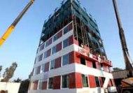 ساخت ساختمان 10 طبقه در 2 روز!!