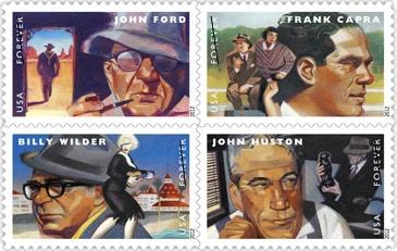 تمبر یادبود بزرگان سینمای آمریکا منتشر میشود