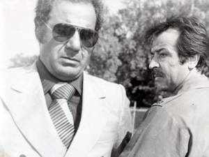 ایرج قادری و ناصر ملک مطیعی