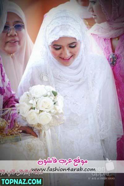 لباس عروس بلند اسلامی