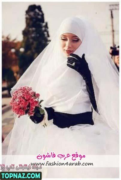 لباس عروس پوشیده 2012