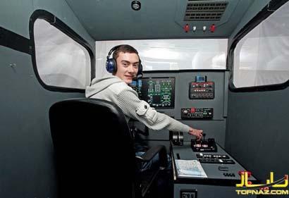 خلبان جوان