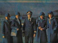 عکسی از زنان مهماندار هواپیمایی قبل از انقلاب