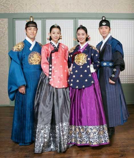 دختران سریال دونگ یی