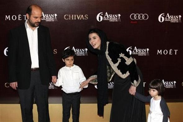 لیلا حاتمی و خانواده اش
