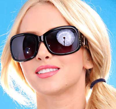 مدل عینک دخترانه 2012