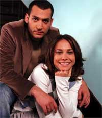 عکس های آزاد بازیگر فیلم ایزل و همسرش ساواش