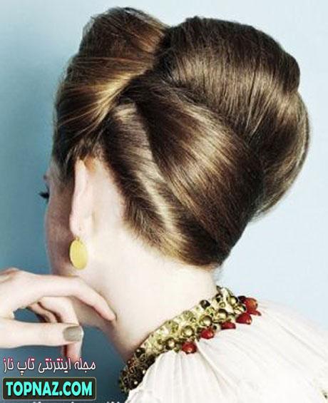 آموزش بستن موهای بلند دخترانه
