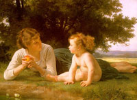 نقاشی های زیبا به مناسبت روز مادر