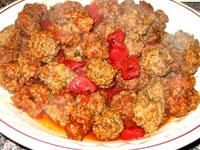 آموزش پخت ریزه کوفته (غذای محلی آذربایجان)