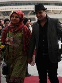بابا اتی و همسرش مه لقا باقری+عکس