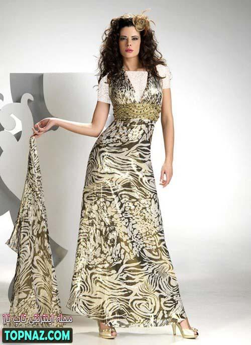 لباس بلند مهمانی زنانه