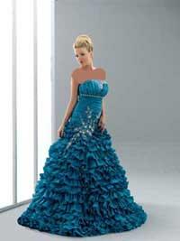 مدل لباس نامزدی 2012 اروپایی