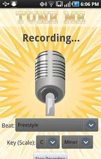 برنامه ضبط صدا Tune Me full v1.1.1 آندروید