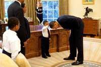 عکسی که کار دست رئیس جمهور آمریکا داد!