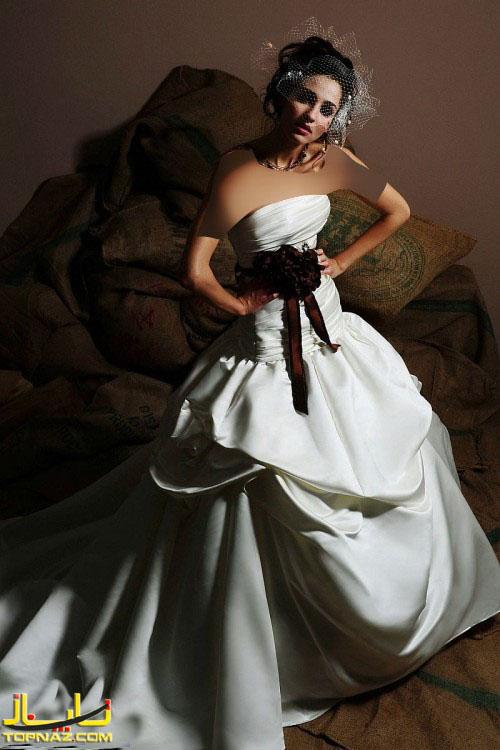 مدل لباس عروس سبک اروپایی