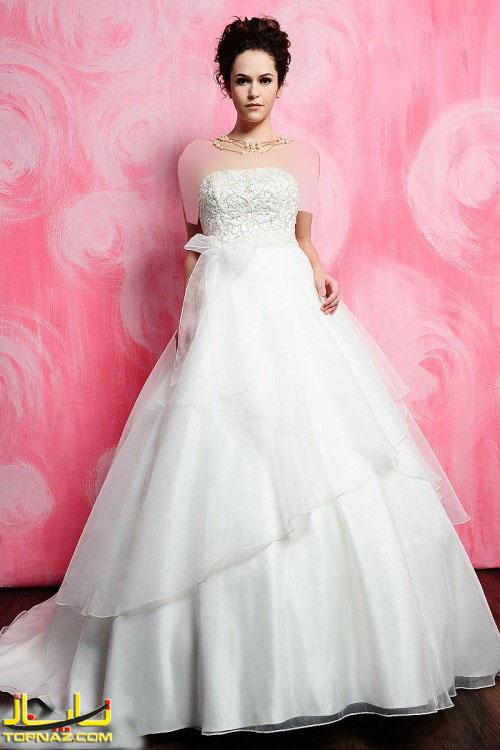 لباس عروس دختران خوش اندام