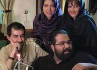 شهاب حسینی و رضا صادقی در کنار همسرانشان