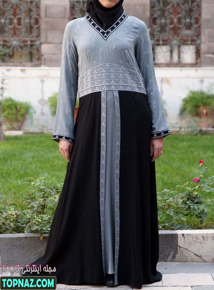 مدل مانتو بلند اسلامی سال 91