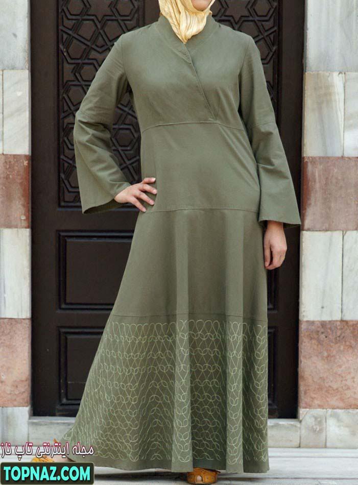 لباس بلند مجلسی اسلامی