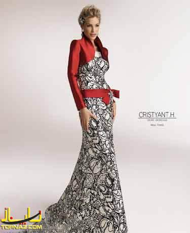 لباس مجلسی جدید دخترانه 2012