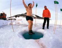 شنا در یخ