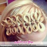 مدل موی بافته شده بانوان