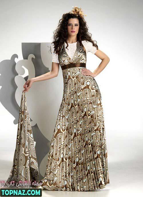 طرح جدید لباس مجلسی تابستان 2012