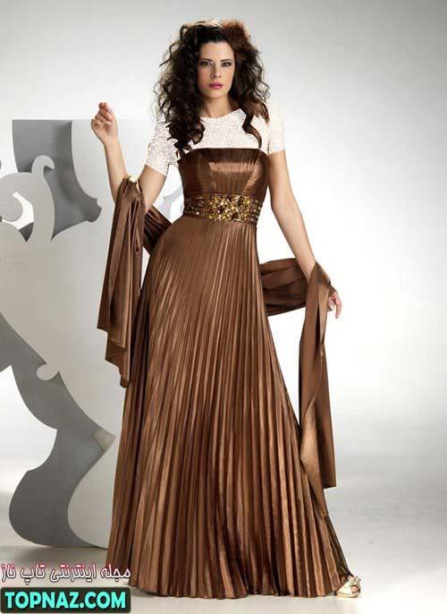 بلوز بلند حریر لباس مجلسی طرح جدید تابستان 91
