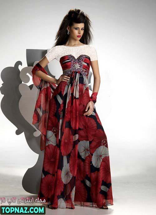 لباس مجلسی شیک تابستان 2012